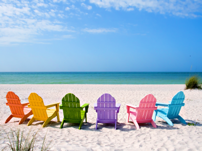 summer beach chairs