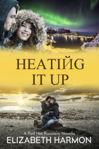 Heating It Up cover- small town love story set in Antarctica